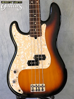 jerry 39 s lefty guitars newest guitar arrivals updated weekly fender precision bass 1991 left. Black Bedroom Furniture Sets. Home Design Ideas