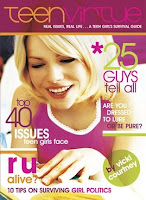 Christian magazine teen girl