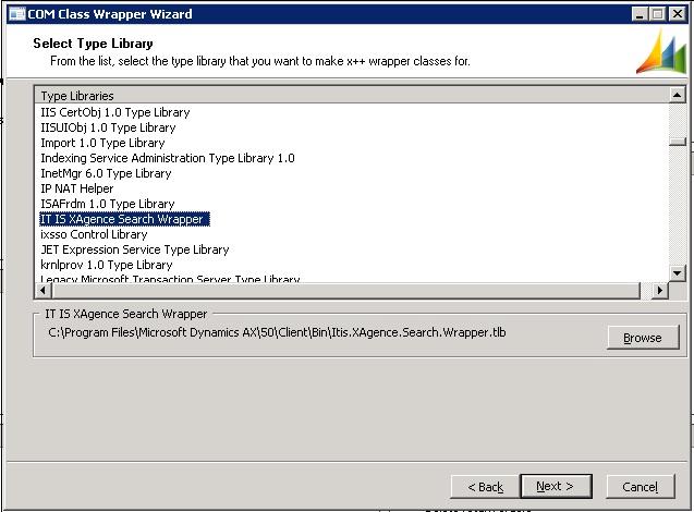 Giridhar Raj's Blog on Microsoft Dynamics AX: How to use COM Wrapper