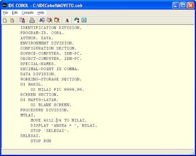 Form cobol coding download
