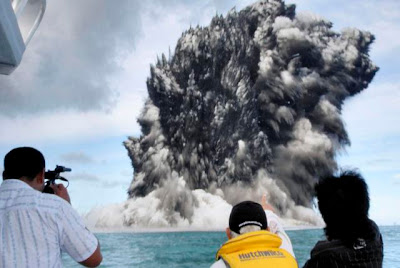 Undersea Volcano - Tonga (March 2009)