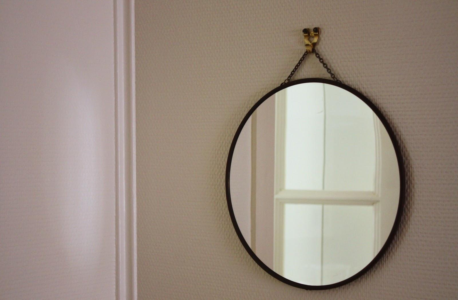 miroir rond grand format. Black Bedroom Furniture Sets. Home Design Ideas