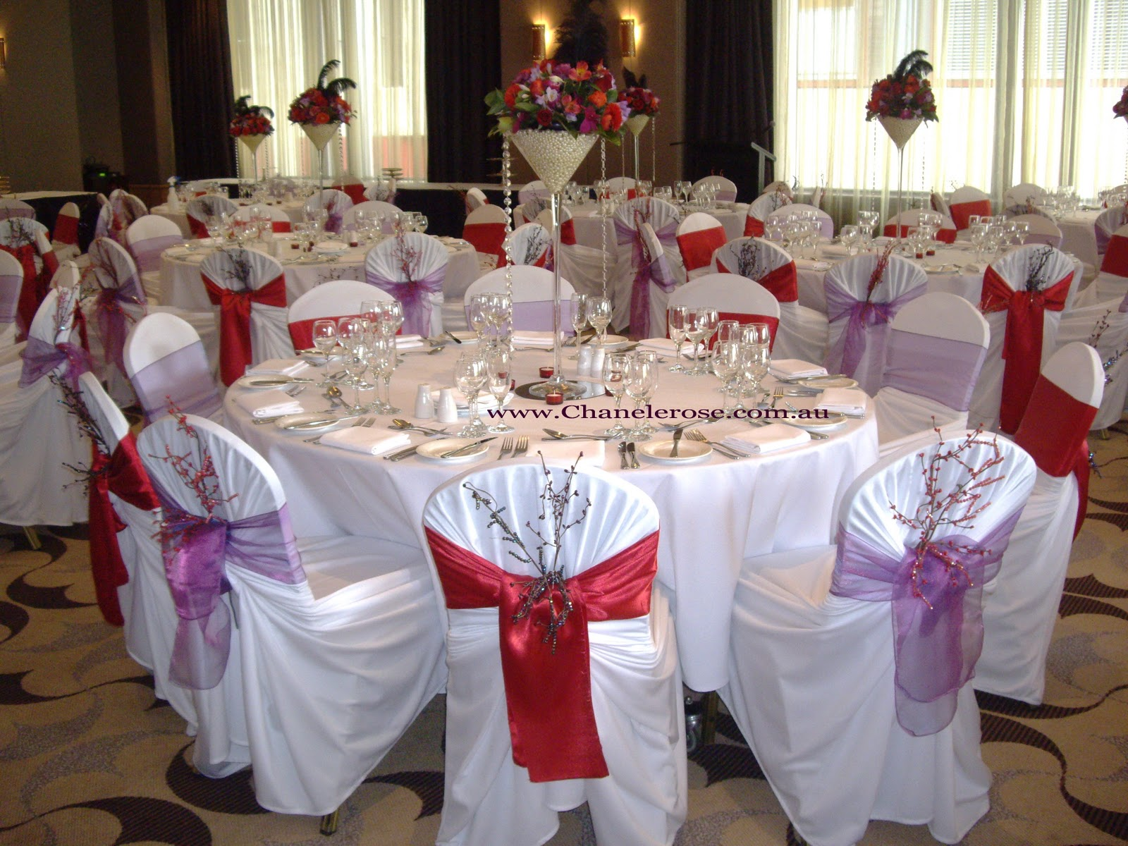 wedding chair covers sydney leather belt chanele rose flowers blog stylist