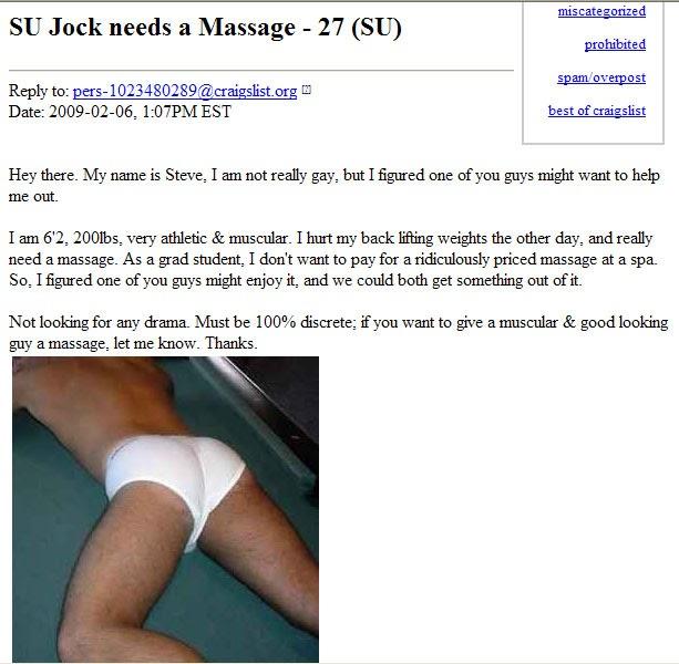 Craigslist la men seeking men