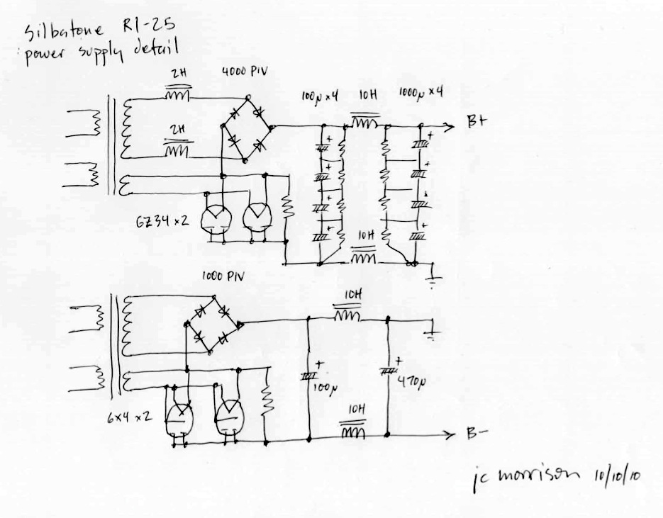 tube amp schematics by jc morrison