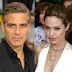 Angelina Jolie and George Clooney