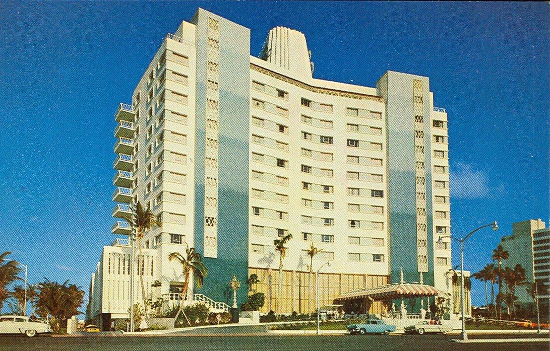 Vintage Travel Postcards Miami Beach Florida