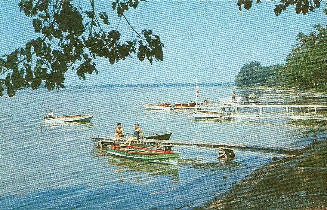 Vintage Travel Postcards Coldwater Michigan