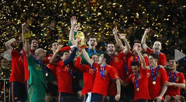 Espagna espagna oll a7ki koora blog foot tunisien - Vainqueur coupe du monde 2010 ...