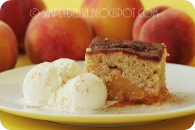 Peach Cobler With Yellow Cake Mix
