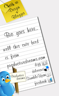 Free Twitter Backgrounds PSD Layered files download