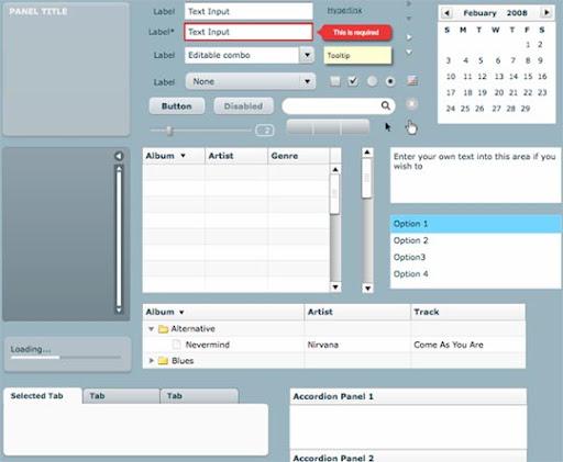Useful Free Web UI Elements PSD Packs Download