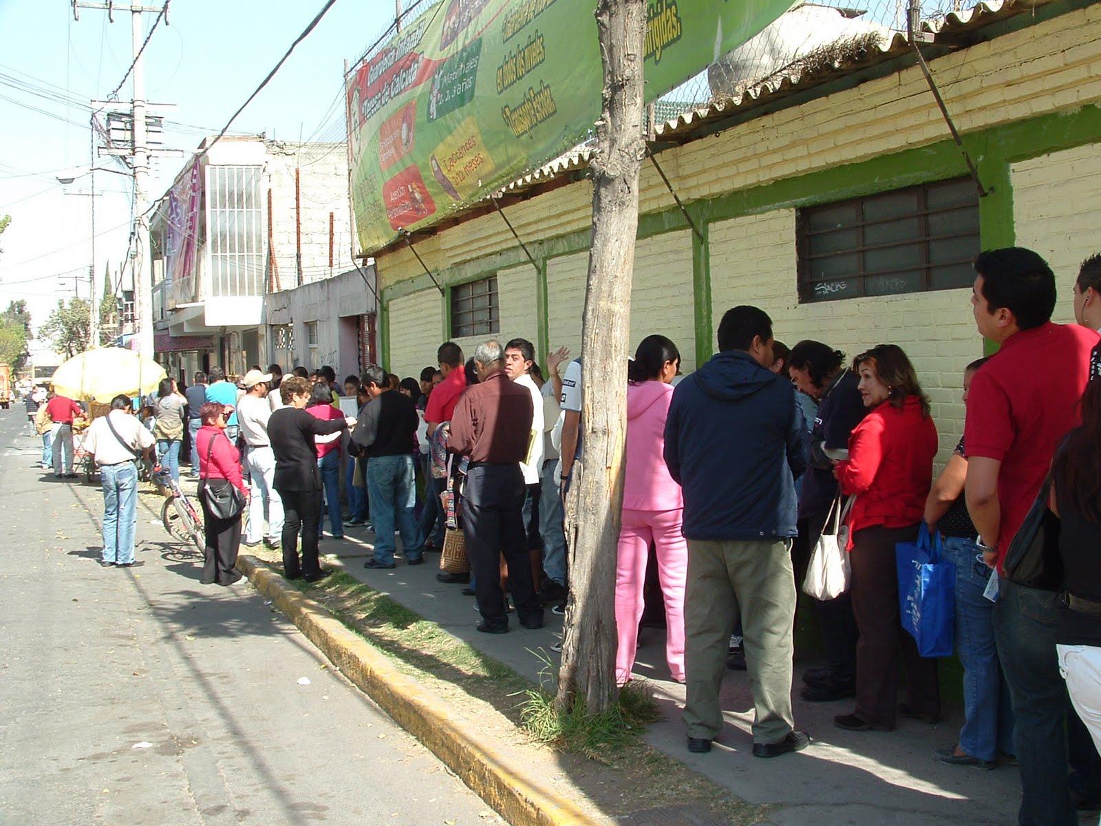 Cronista De Ecatepec Multitudinaria Gente Acude A Módulos