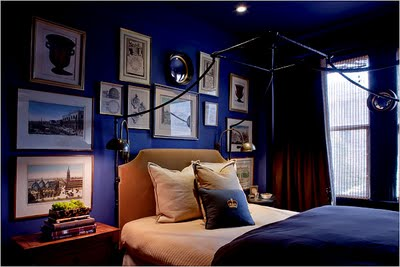 photograph gallery. Top - Royal Blue Bedroom Desins
