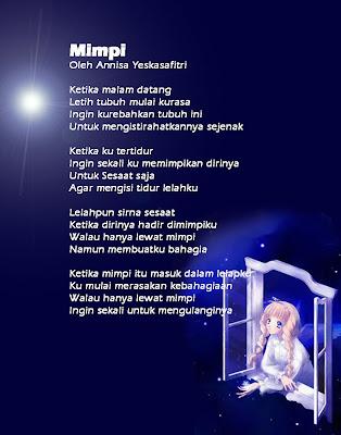 Dyenda Azzahra L Kumpulan Puisi Puisi
