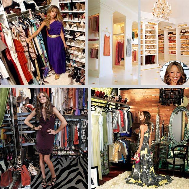 Cabina Armadio Mariah Carey.Seaseight Design Blog Interior Design Walk In Closet
