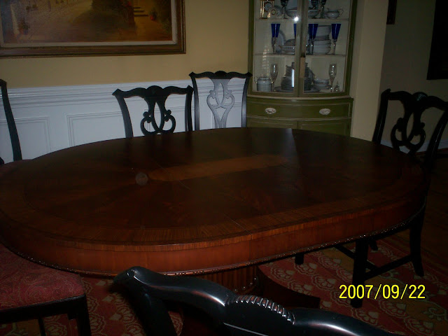 Good ole Fashioned PUB and PULPIT Dining Room transformation