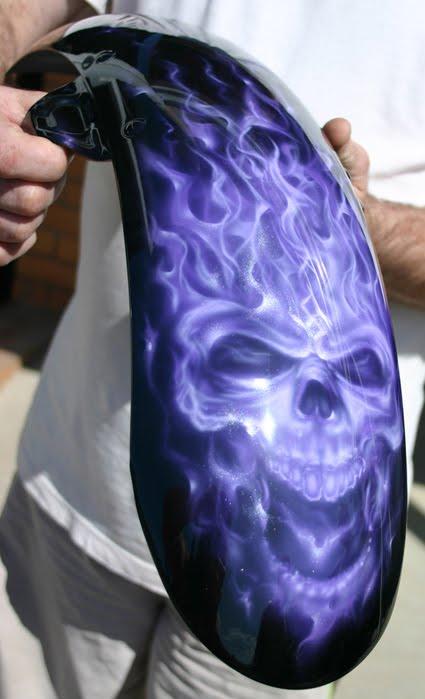 Purple Flame Skull Graphics Code Purple Flame Skull ...
