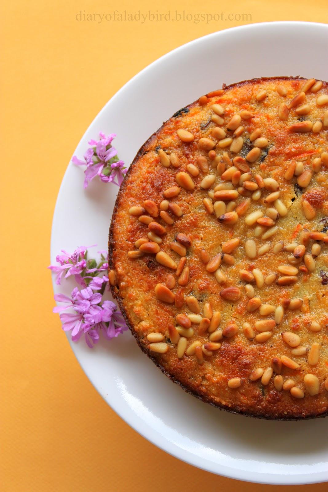 Nigella Lawson Venetian Carrot Cake