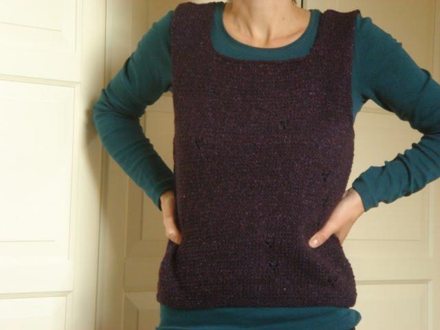 Lila Pullunder Purple Vest