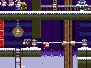 Santaman got the blues free action platformer game