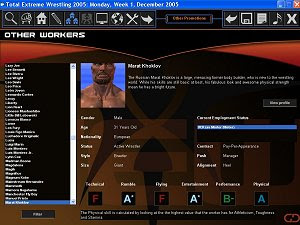 Total Extreme Wrestling 2005 - Free PC Gamers - Free PC Games