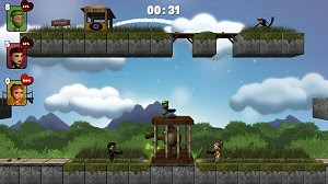 Tiny Tumblers free action multiplayer game