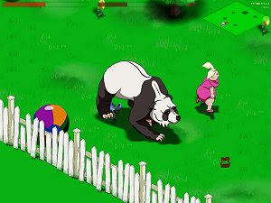 Panda Rampage free and fun casual game