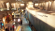 U-505 Captured WWII German Submarine, at the Museum of Science & Industry, Chicago