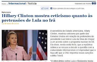 Lula e o acordo com o Irã: bomba atômica?