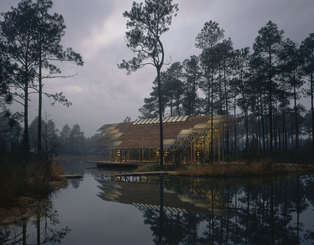 e fay jones and his ethereal pinecote pavilion