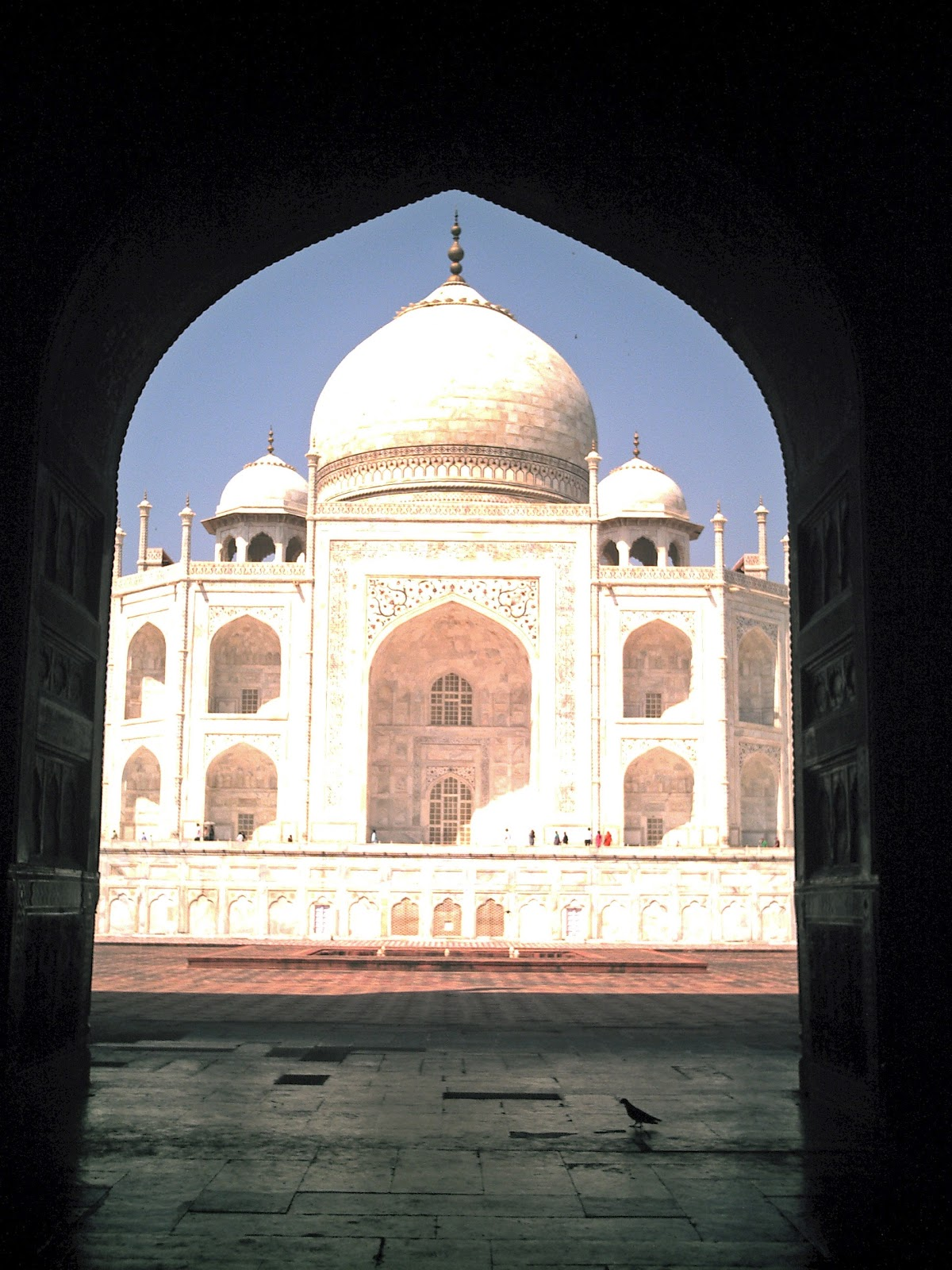 Stock Pictures The Taj Mahal At Agra