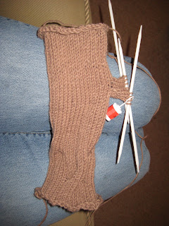 N of GAIN fingerless gloves