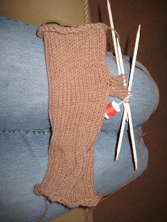 N of GAIN fingerless gloves