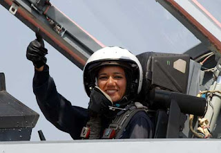 First woman to fly MIG-35 suman Sharma
