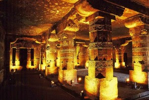 Most famous tourist spot in Maharashtra Ajanta Caves