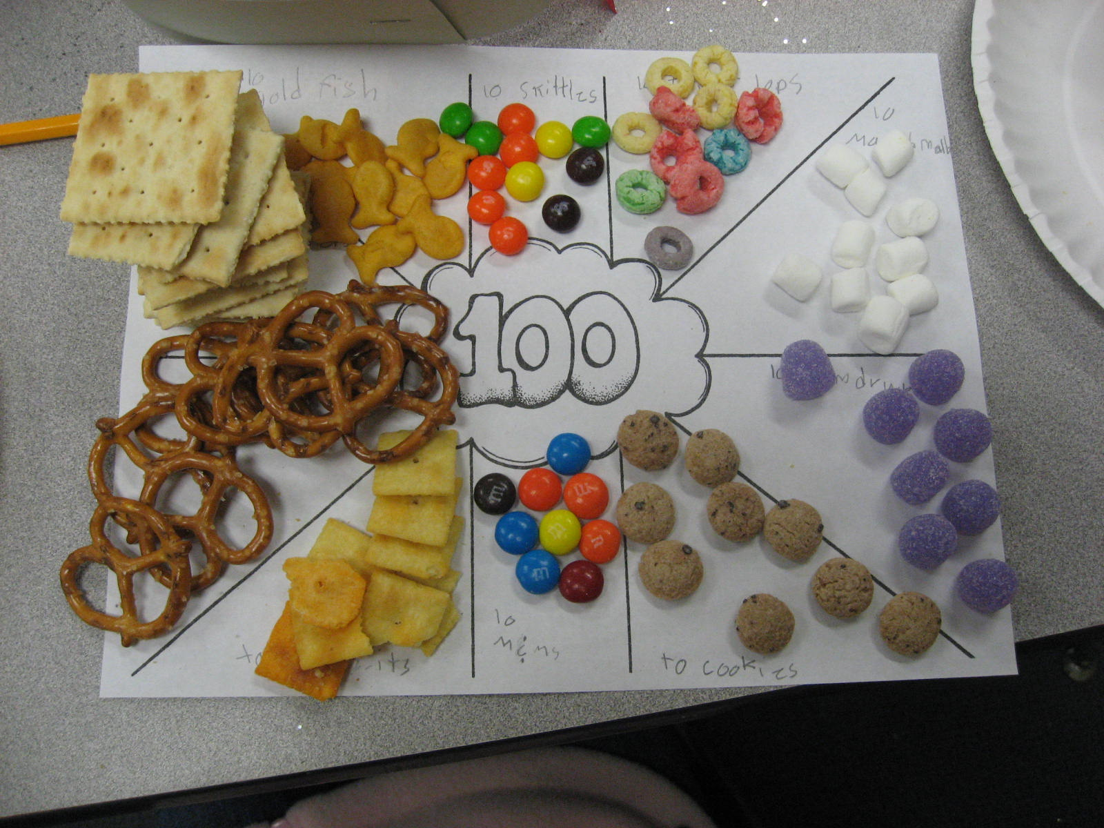 Learning With Miss Young 100 Days Of School