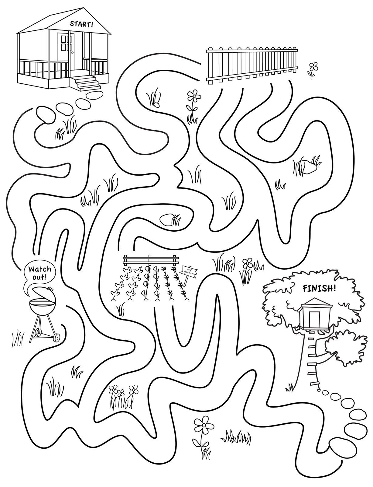 Taradactyl Old Maze Sketch