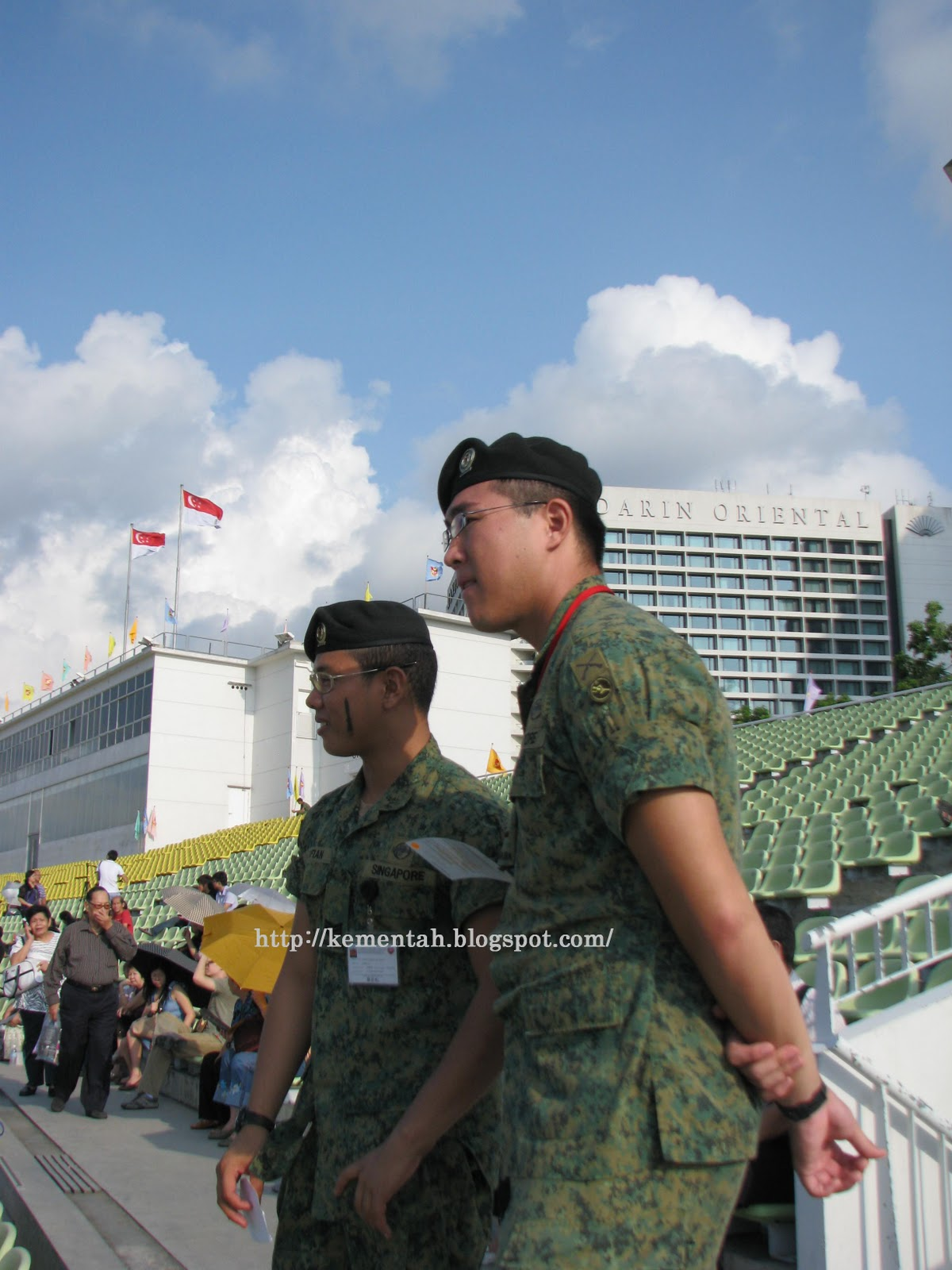 Senang Diri: National Service marches on: Basic Military