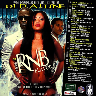 RNB+Flavor+10 DJ Flatline R&B Flavor Vol.1o