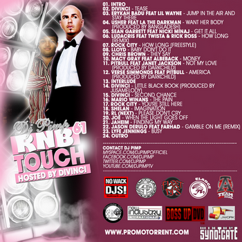 839160coverbackwebmail DJ PIMP RNB TOUCH 61 HOSTED BY DIVINCI