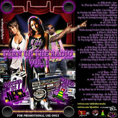 [The Fleet Djs] New Post : DJ EMILLIOT Turn up the radio Vol.1  hosted by Nikki Nicole