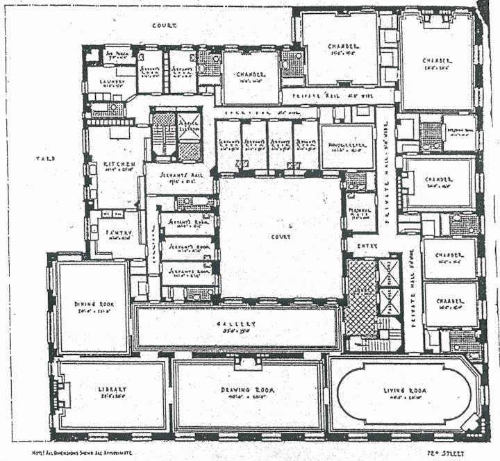 Papal Apartments Floor Plan