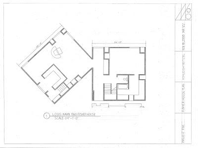Ashleigh Neitzel Louis Kahn 1960 Fisher House