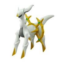 Pokemon Soft Vinyl Figure DX Arceus Tomy