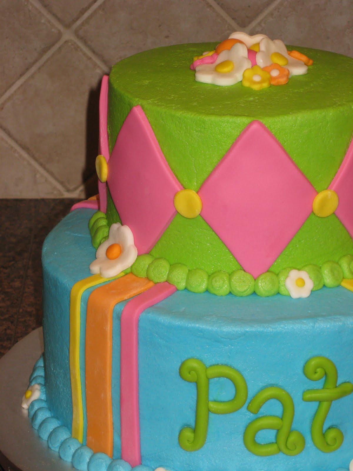 Shannon S Creative Cakes Happy Birthday Pat