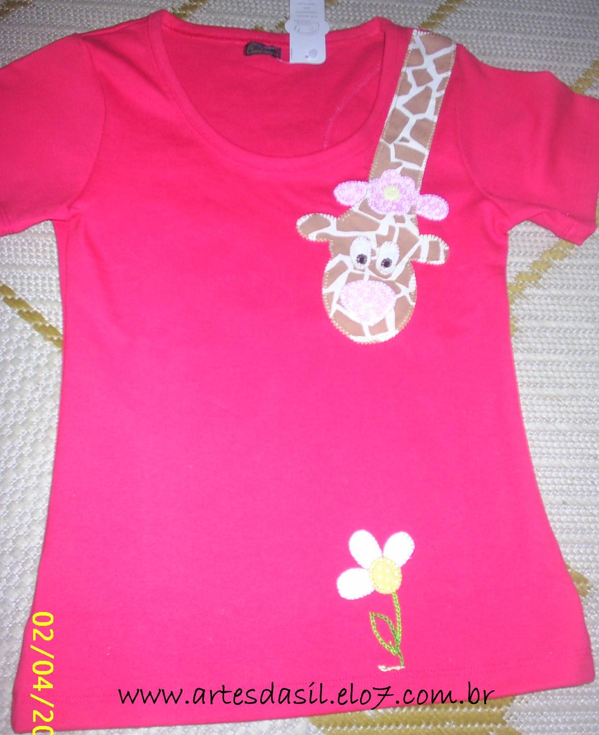 3485483728 Artes da Sil  Camisetas com patchcolagem