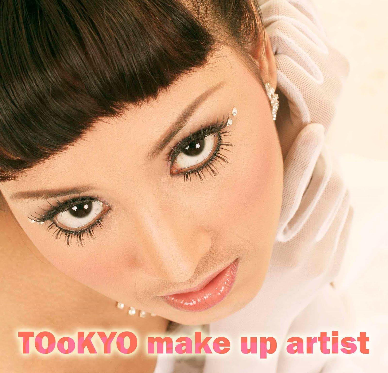 this is my Jobs: TOoKYO make up artist (fariz)
