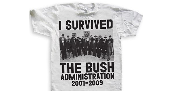 I Survived The Bush Administration T-shirt