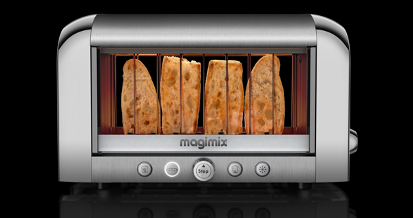 Magimix Vision Toaster see through toaster